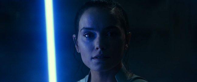 Rey em A Ascensão Skywalker
