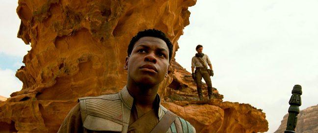 Finn em cena de A Ascensão Skywalker