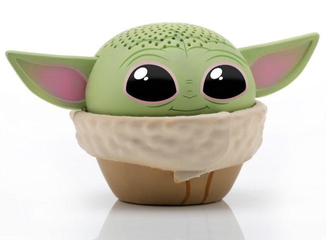 Baby Yoda vira caixa de som Bluetooth