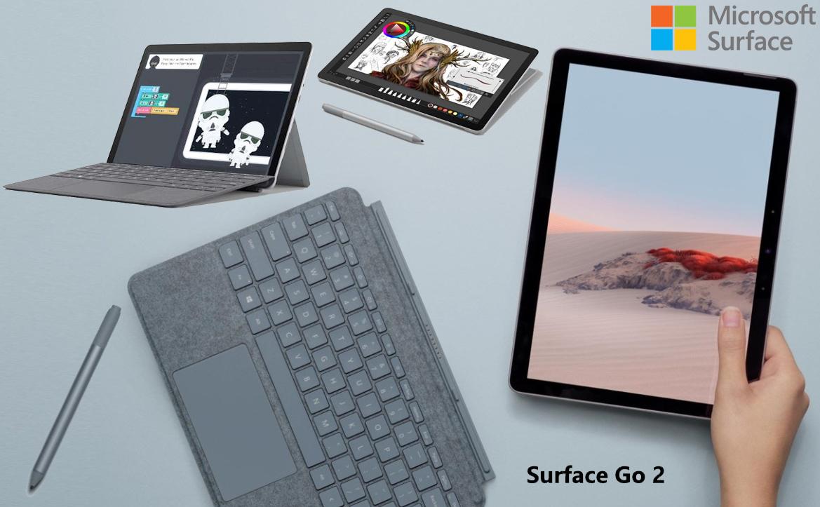 Surface Go 2, o Novo Laptop/Tablet 2-em-1 da Microsoft miniatura