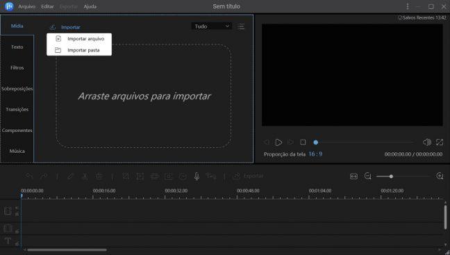 EaseUS editor de vídeo