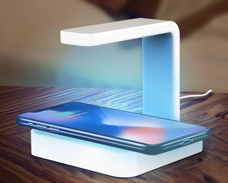 Esterilizador UV com carregador sem fio