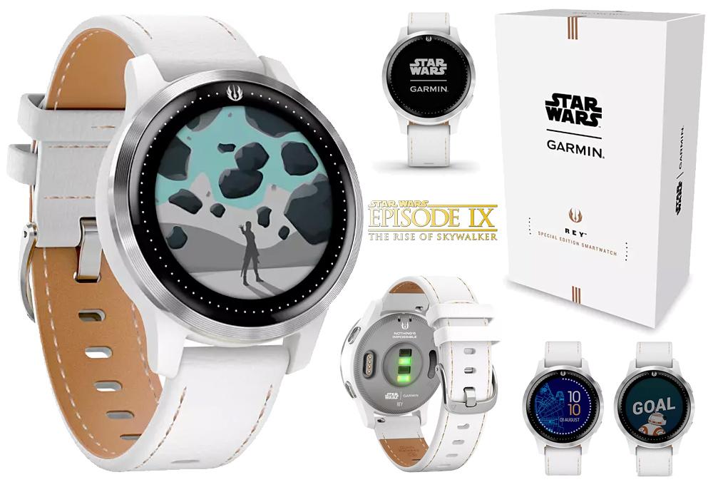Relógio Rey Smartwatch Garmin – Edição Especial Star Wars: A Ascensão Skywalker miniatura