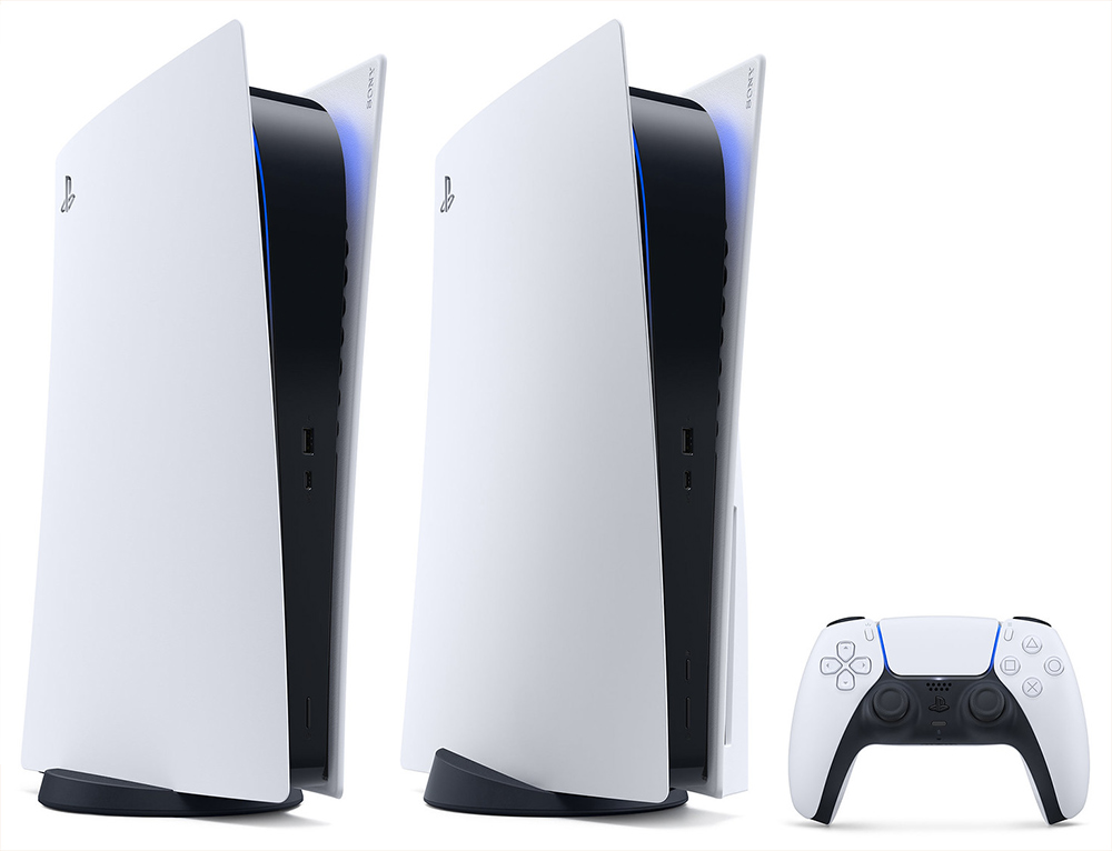 PlayStation 5 tem duas versões, com drive e a PS5 Digital Edition
