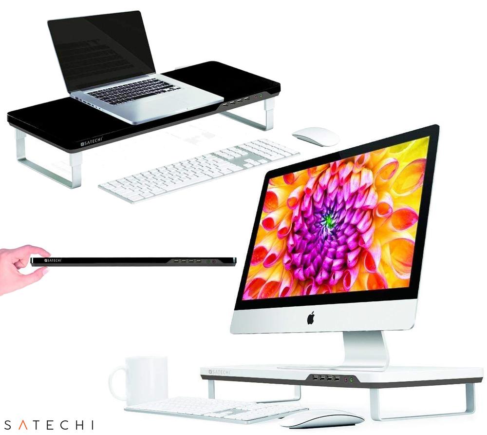 Suporte para Monitor ou Notebook Satechi F3 Smart Stand miniatura