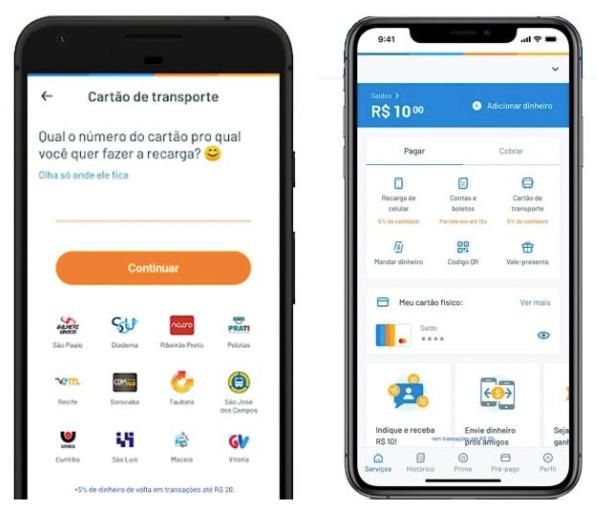 Recargar e transferir saldo VIvo com Recarga Crédito App