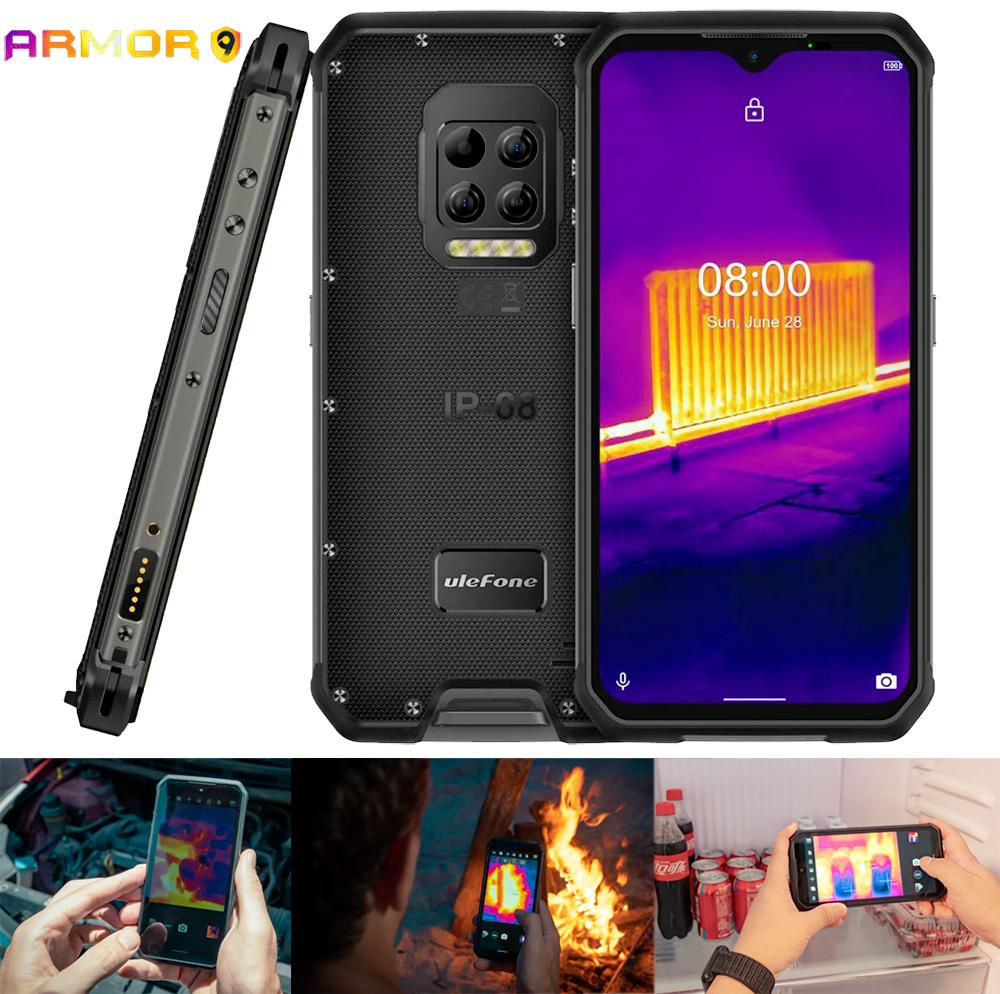 Smartphone Ulefone Armor 9 Rugged com Câmera Termográfica de Última Geração miniatura