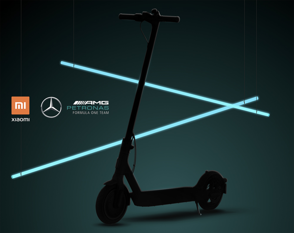 Mi Electric Scooter Pro 2 Mercedes AMG-Petronas F1 Team Edition