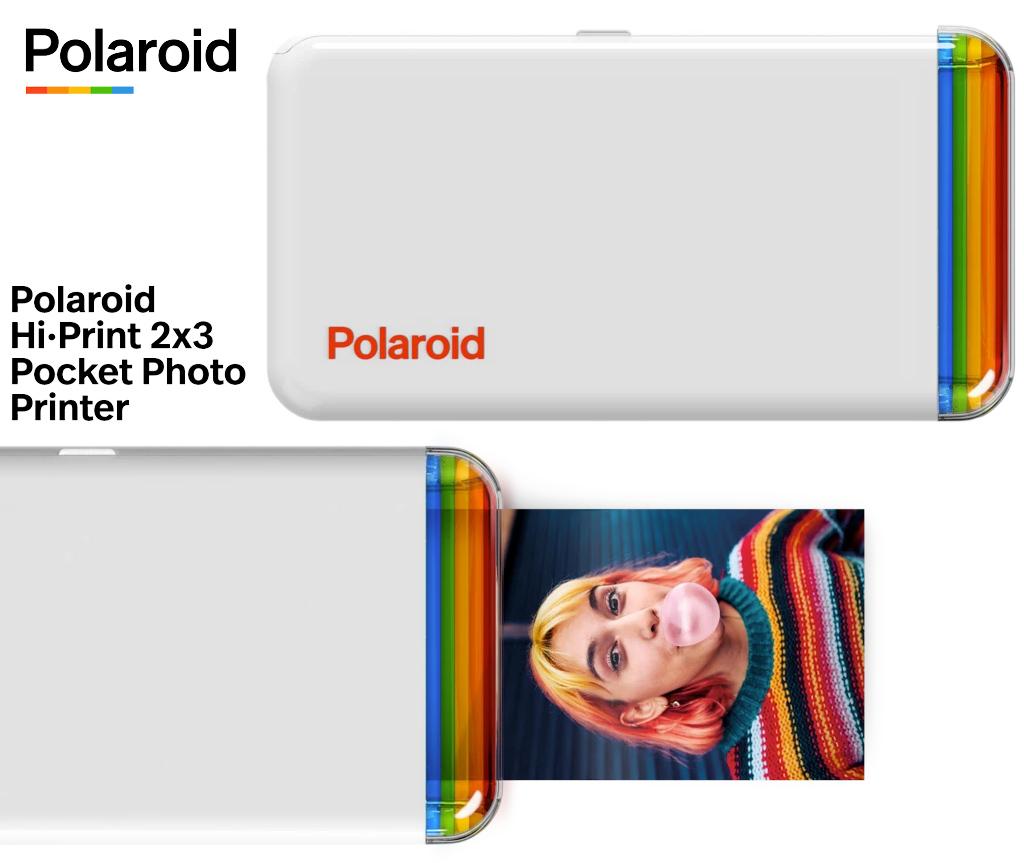 Mini Impressora Portatil Polaroid Hi·Print 2x3