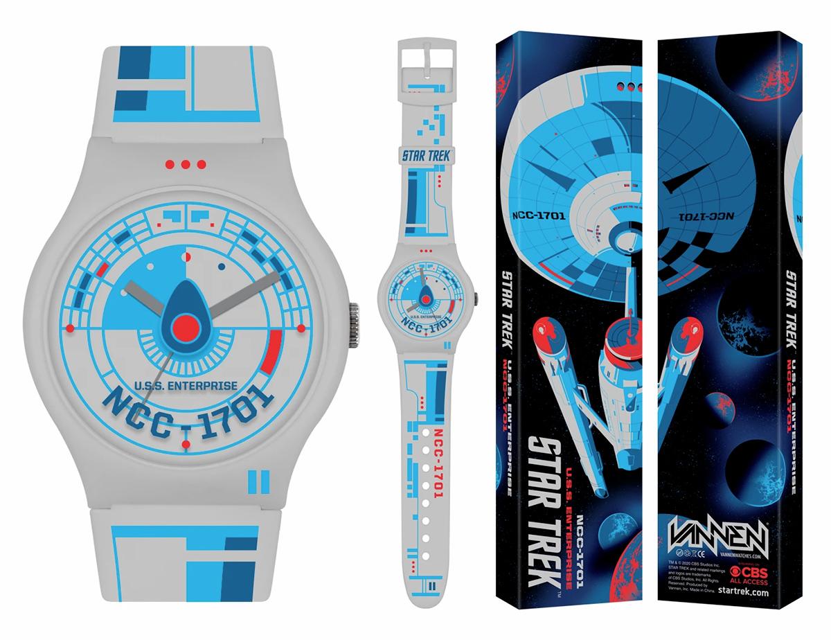 Relógios de Pulso Star Trek USS Enterprise