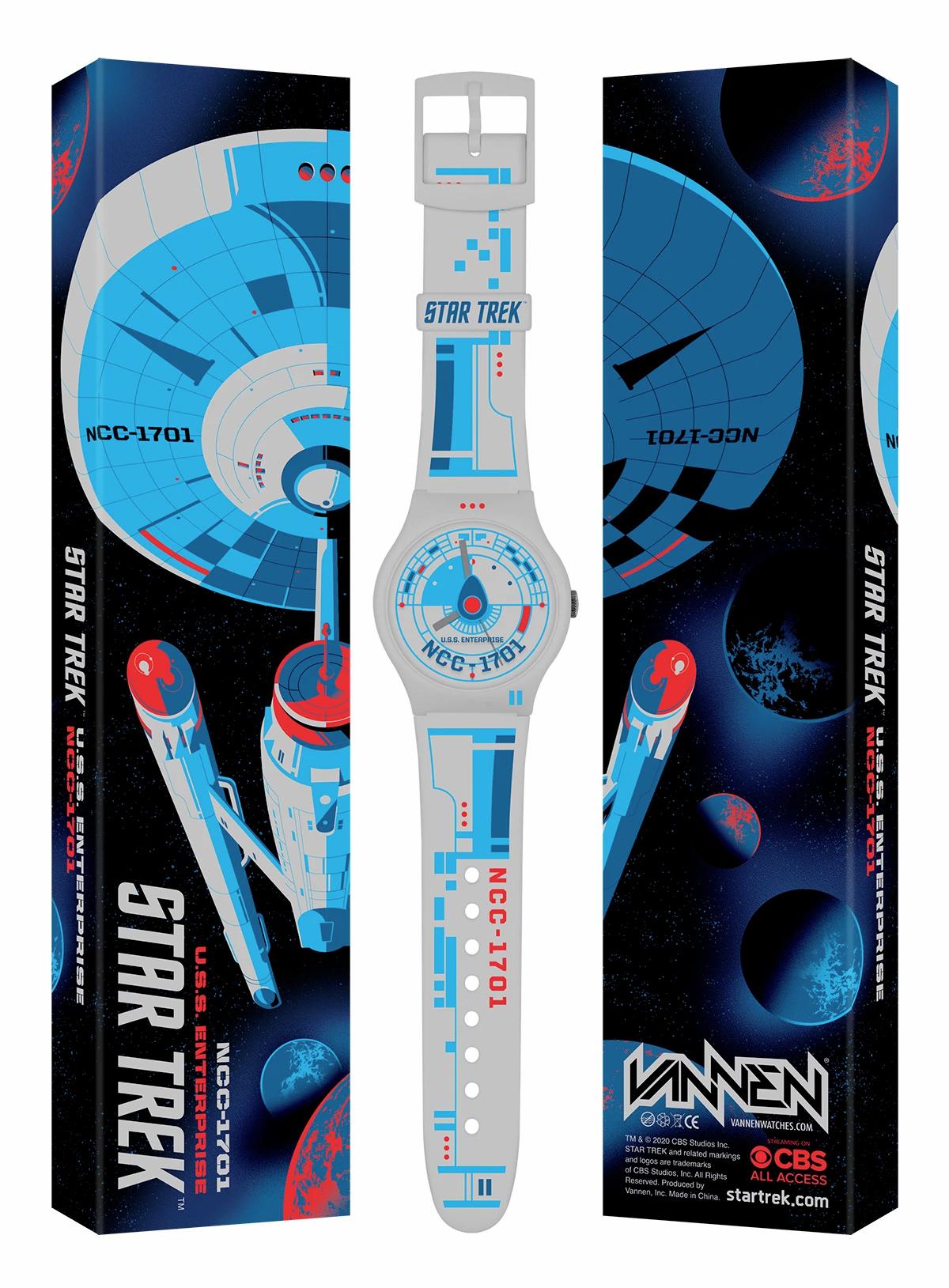 Relógios de Pulso Vannen USS Enterprise