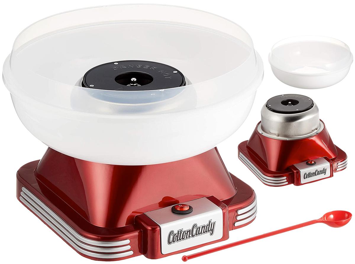 Máquina de Algodão Doce SIS Red Cotton Candy Maker