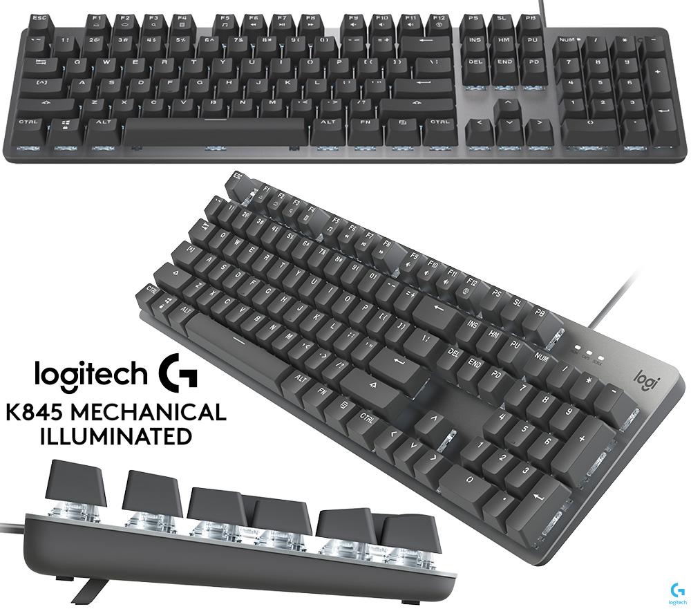 Teclado Mecânico Logitech K845 Mechanical Illuminated Keyboard