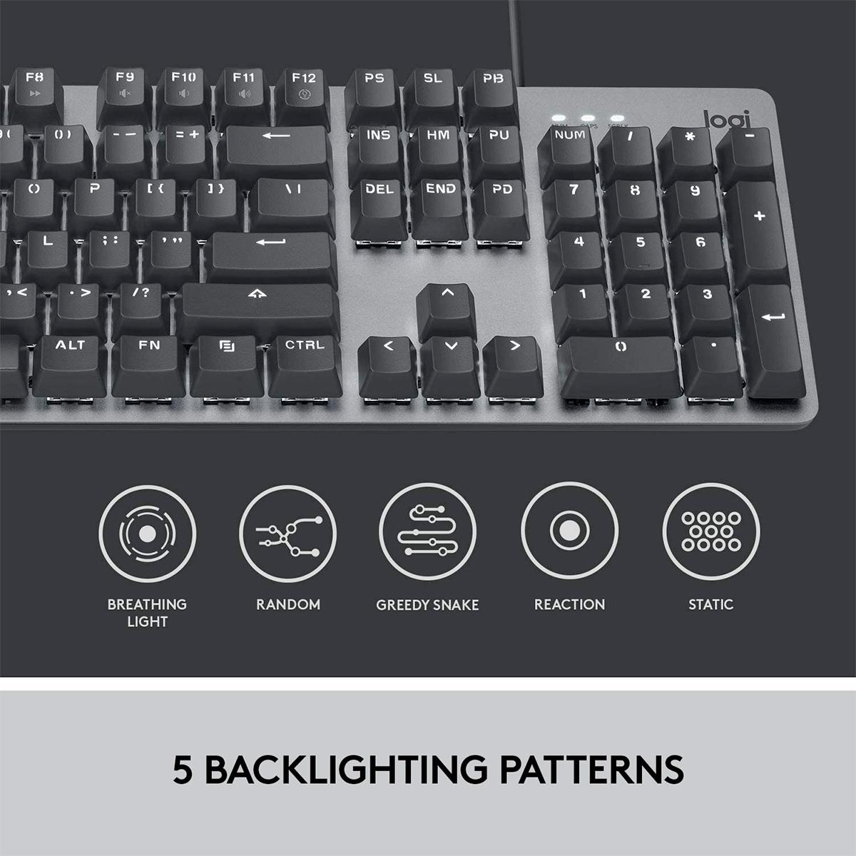 Teclado Mecânico Logitech K845 Keyboard