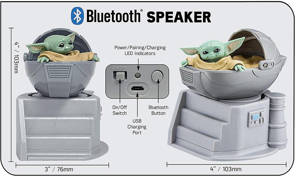 The Child Star Wars The Mandalorian Bluetooth Speaker