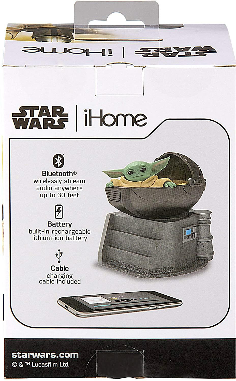 Caixa de Som The Child Star Wars The Mandalorian Bluetooth Speaker eKids