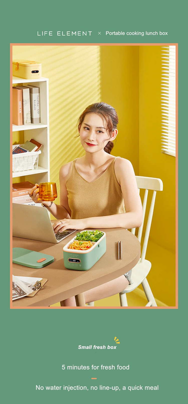 Life Element Electric Lunch Box