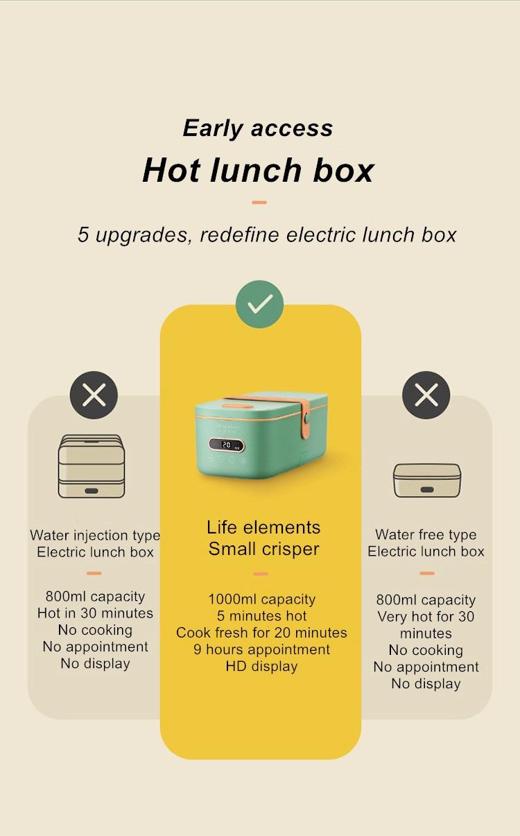 Lancheira Xiaomi Life Element Electric Lunch Box