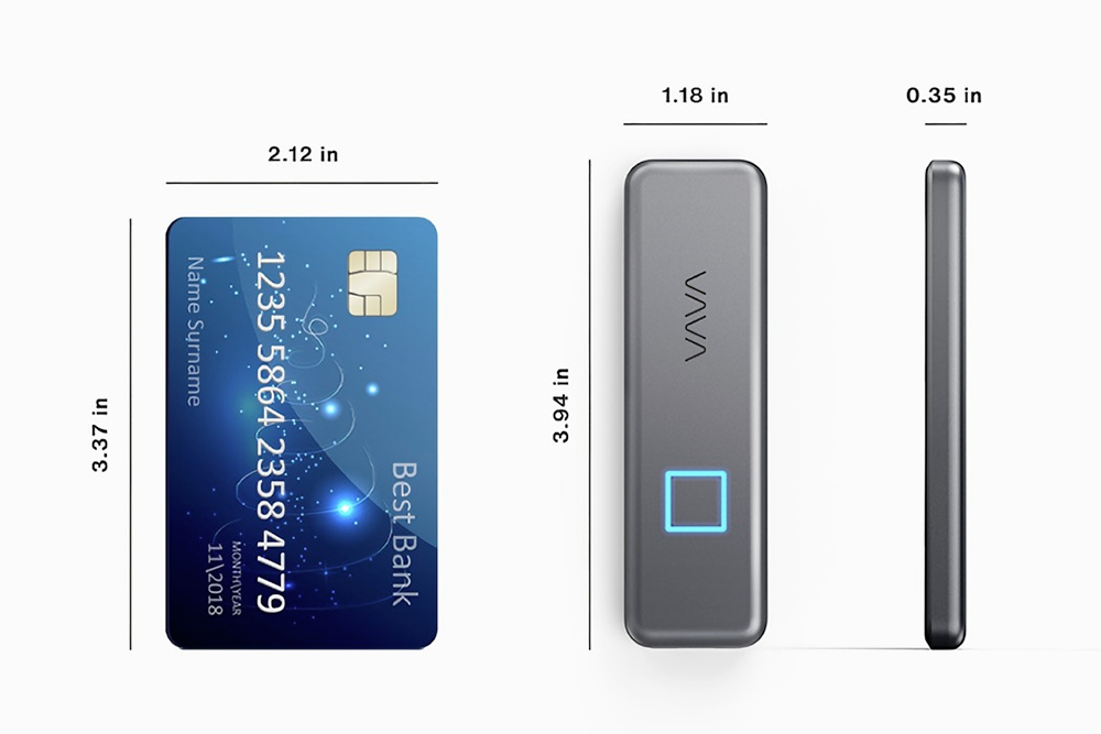 VAVA Portable SSD Touch