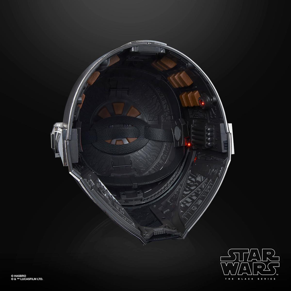 Capacete Eletrônico The Mandalorian Electronic Helmet Star Wars The Black Series