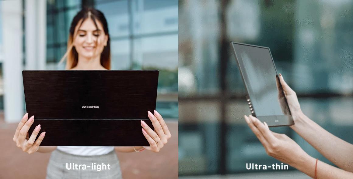 Monitor Portátil DLab Portable 4K