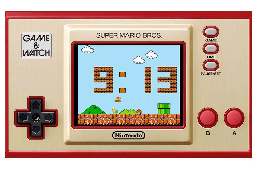 Console Portatil Nintendo Game and Watch Super Mario Bros
