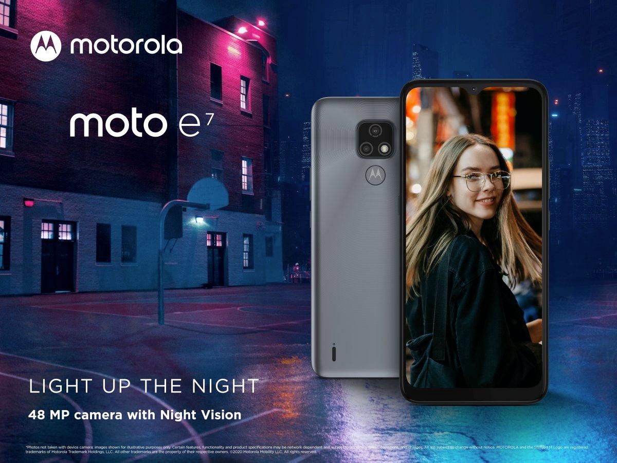 Smartphone Motorola Moto E7