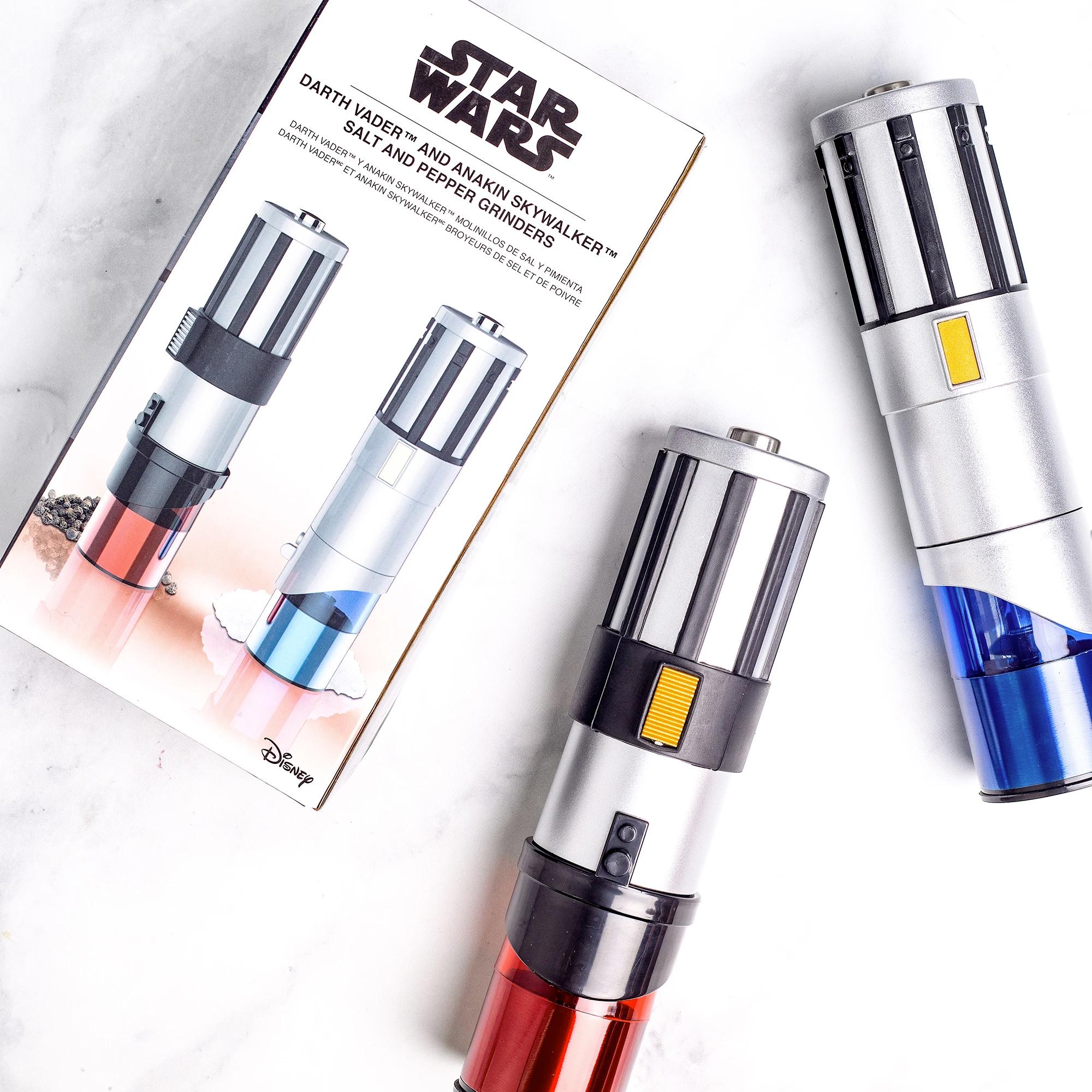 Star Wars Lightsabers Eletric Salt and Pepper Mill Grinders