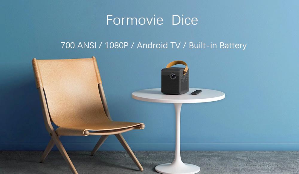 Formovie Dice DLP Mini Projector