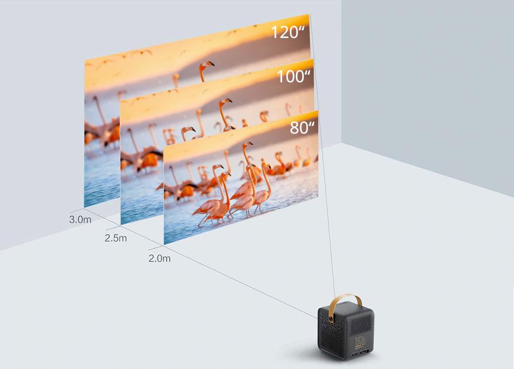 Projetor Portatil Formovie Dice DLP Mini Projector