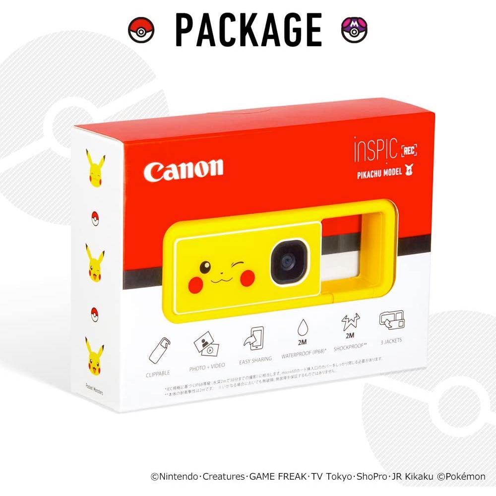 Camera Digital Pokemon Canon Inspic Rec Pikachu