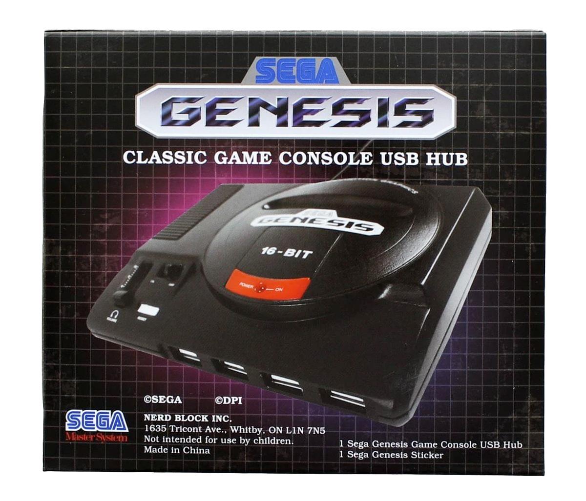 Hub USB Sega Genesis Classic Game Console