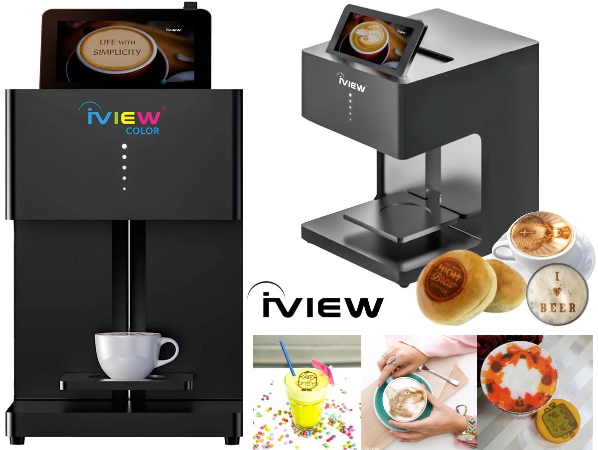 Impressora de Alimentos iView Picasso Art Printer
