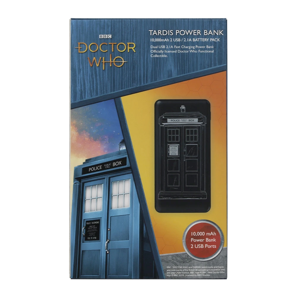 Power Bank Doctor Who