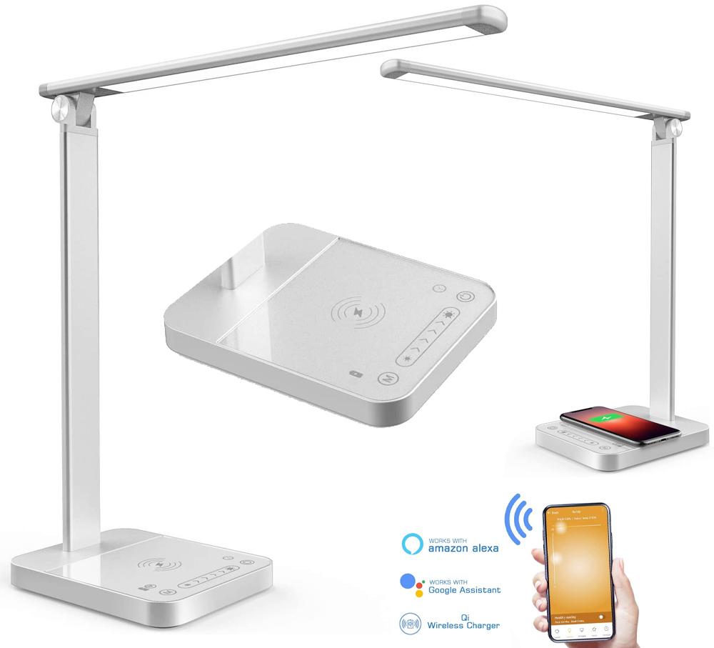 Luminaria Inteligente Sem Fio Napatek S61 Smart LED Desk Lamp