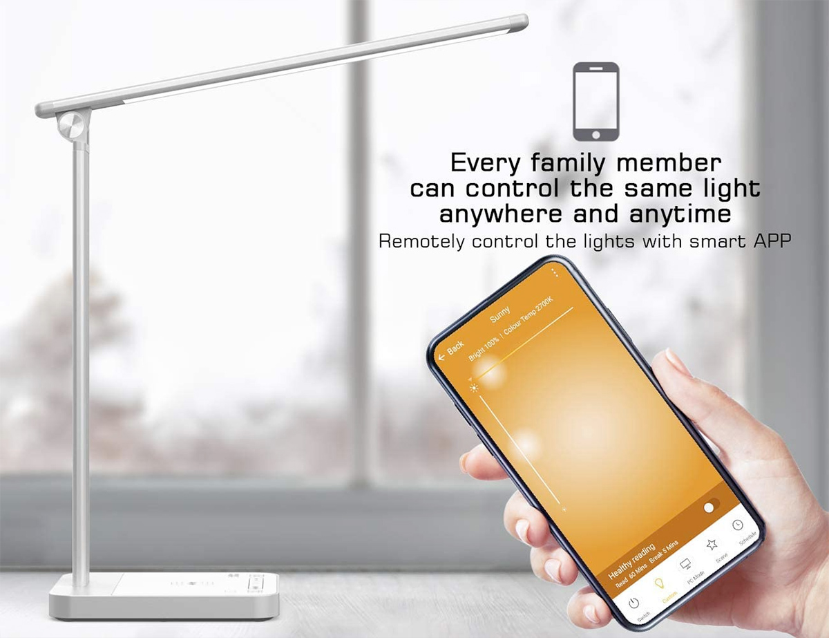 Napatek S61 Smart LED Desk Lamp