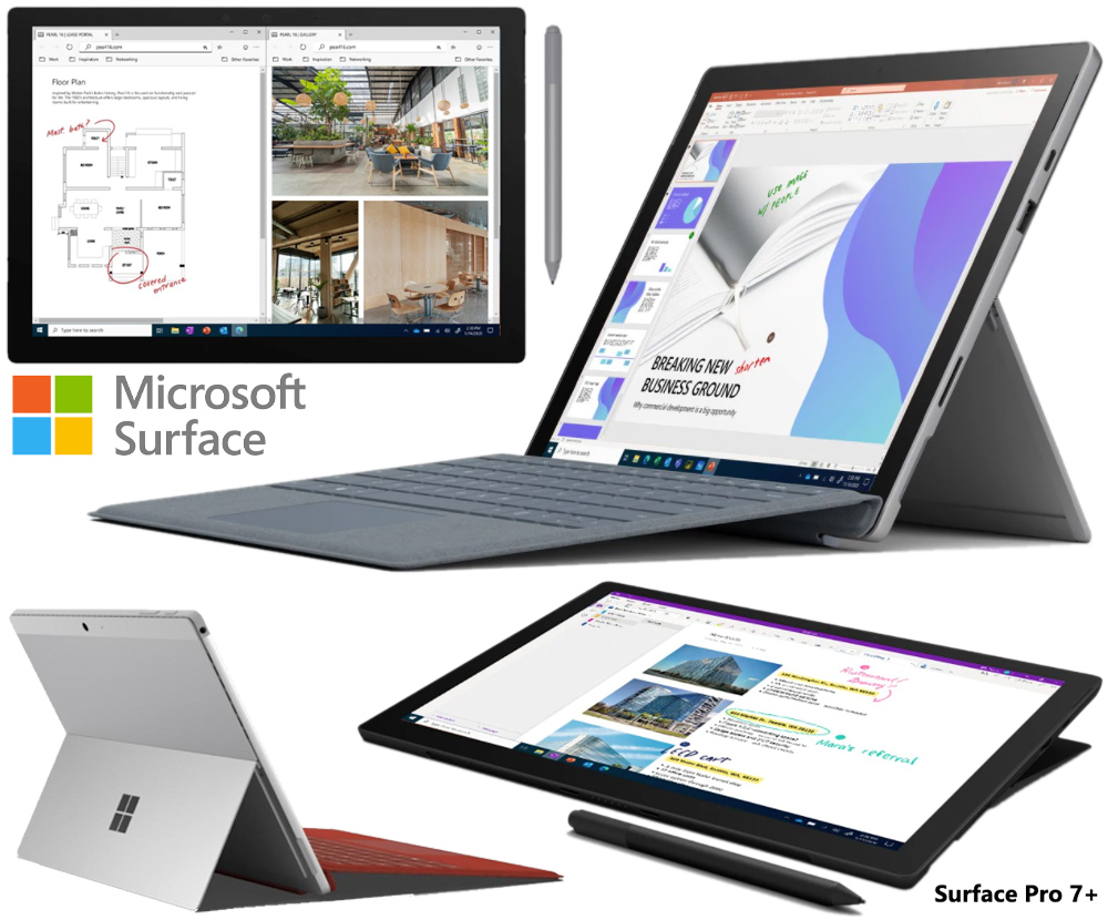 Tablet Surface Pro 7+ Microsoft