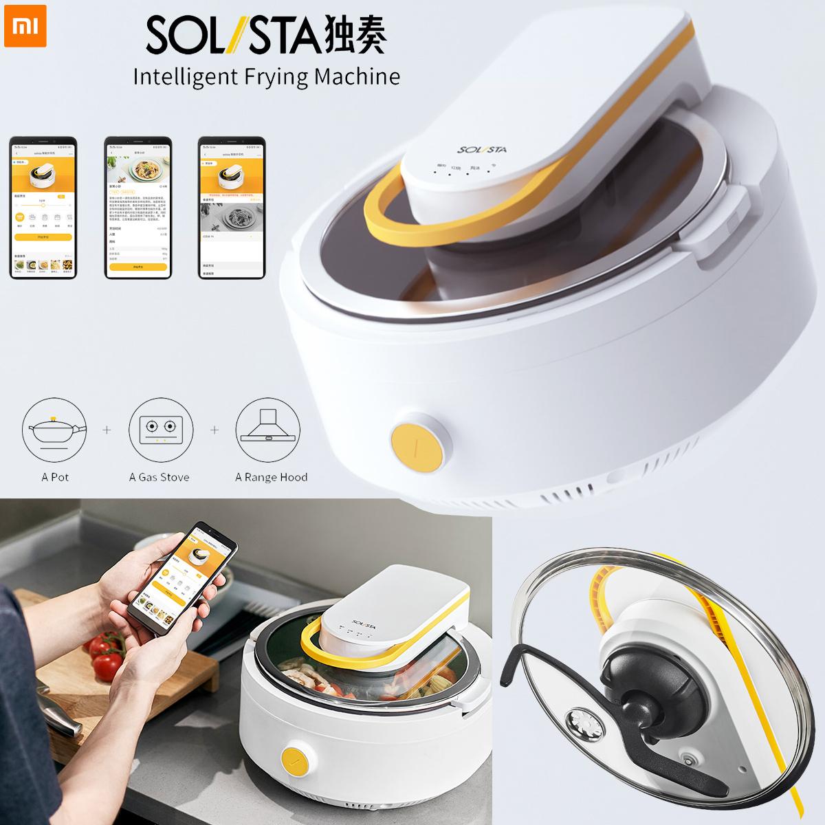 Panela Inteligente Eletrica Xiaomi Solista Solo Smart Cooking Machine