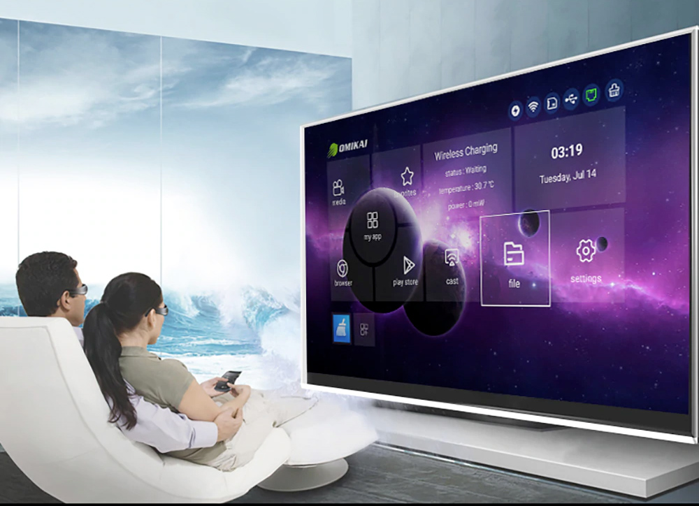 OMIKAI K1 Android TV Box