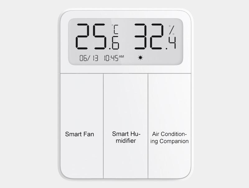 Interruptor Inteligente Xiaomi Mijia Screen Smart Display Switch