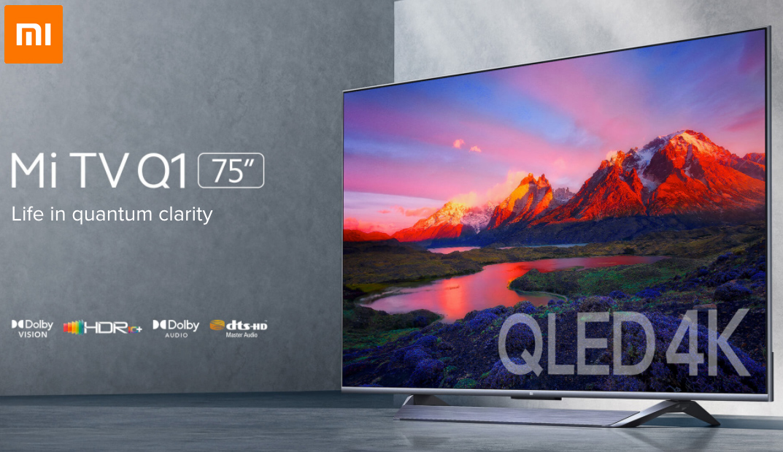 Smart TV Xiaomi Premium Mi TV Q1 com Tela de 75 Polegadas miniatura