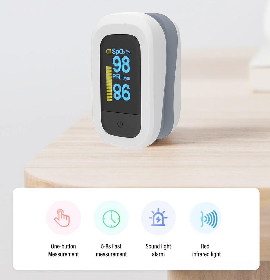 Gadgets de Saúde Yongrow Kit Triplo