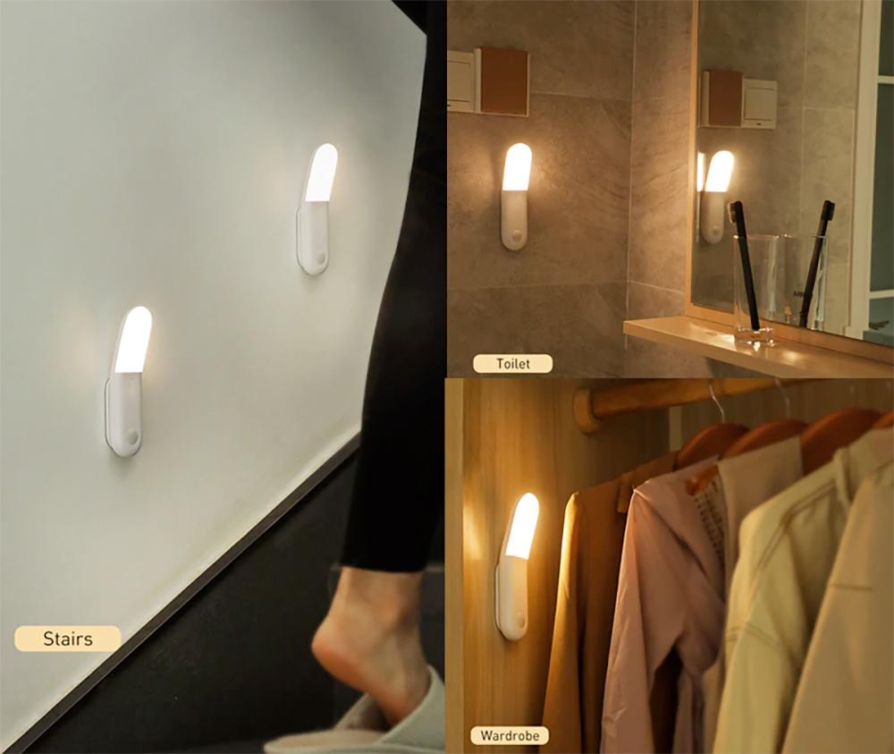 Luminaria Baseus Sunshine Series Human Body Induction Aisle Light