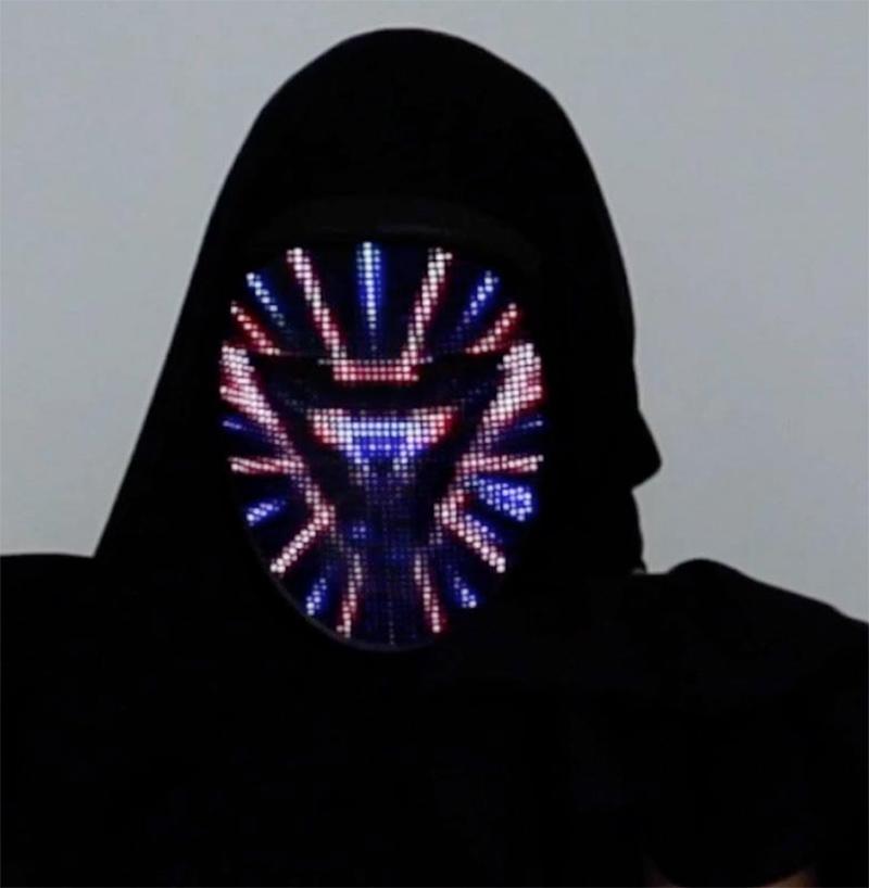 Lumen Couture Mascara LED Face-Changing Mask