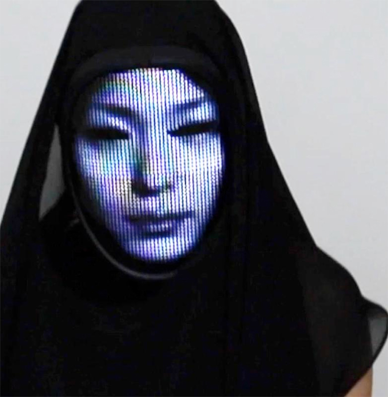 Lumen Couture Face-Changing Mask