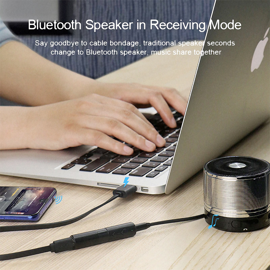 Hagibis Bluetooth 5.0 Transmitter and Receiver
