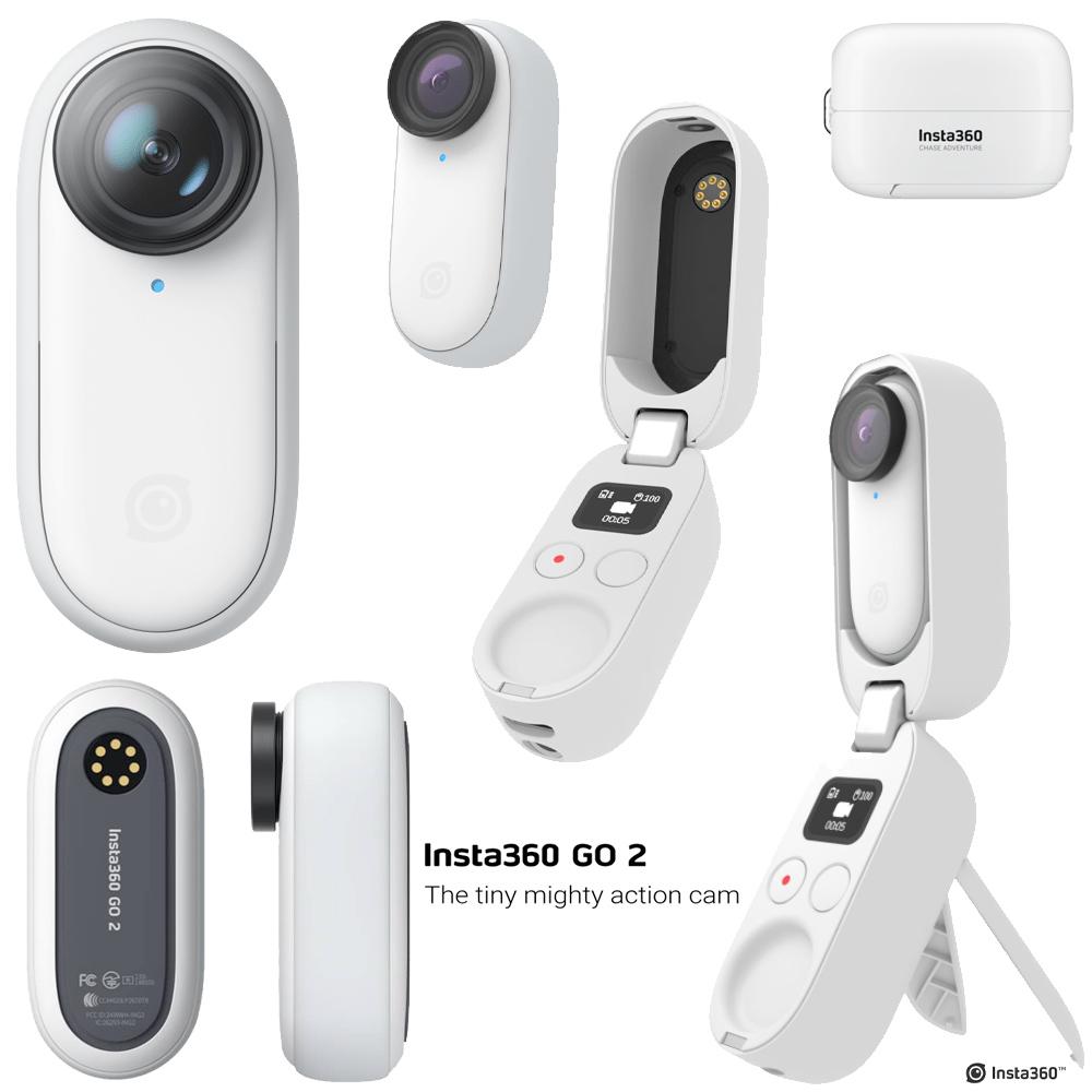 Câmera de Ação Compacta Insta360 Go 2 miniatura