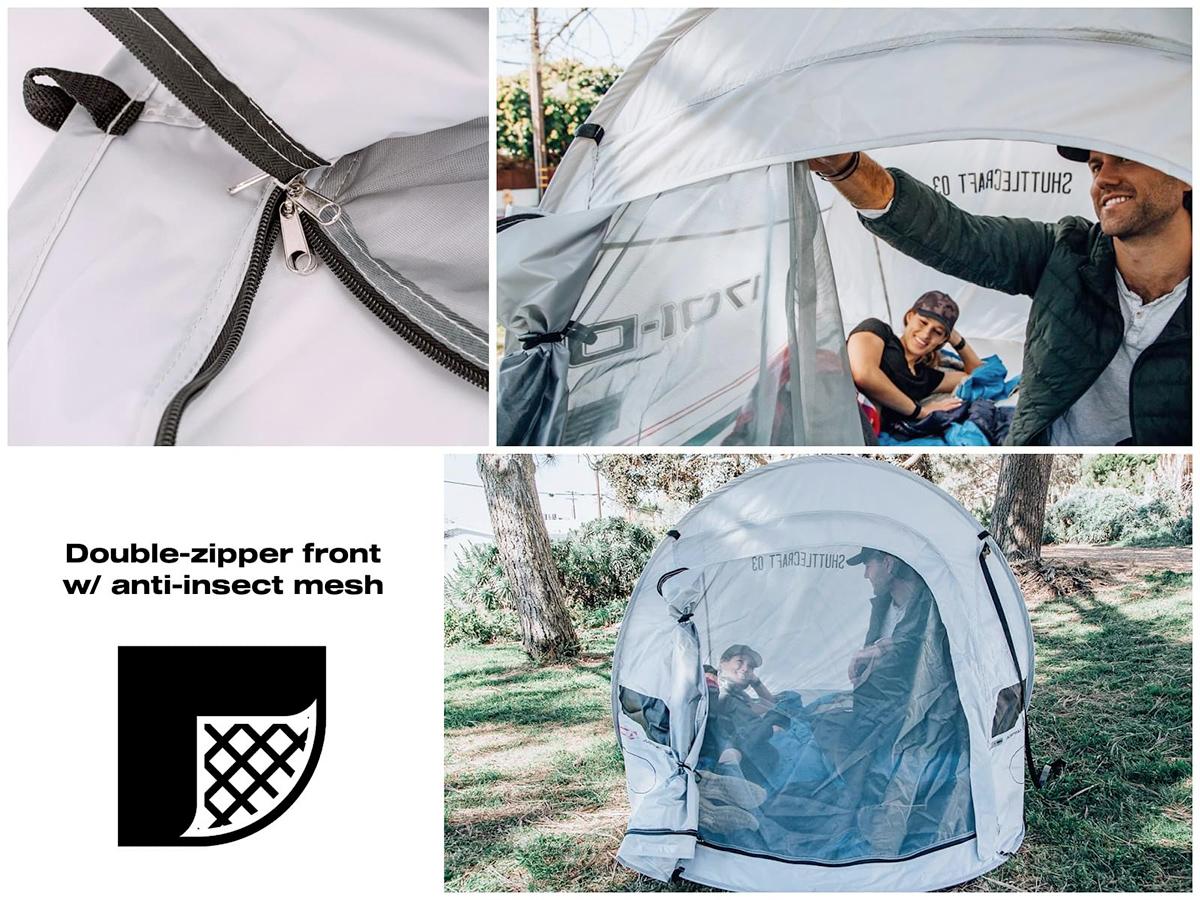 Star Trek The Next Generation Shuttlecraft Justman 2-Person Camping Tent