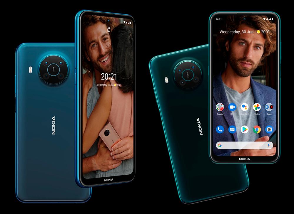 Nokia X20 e X10