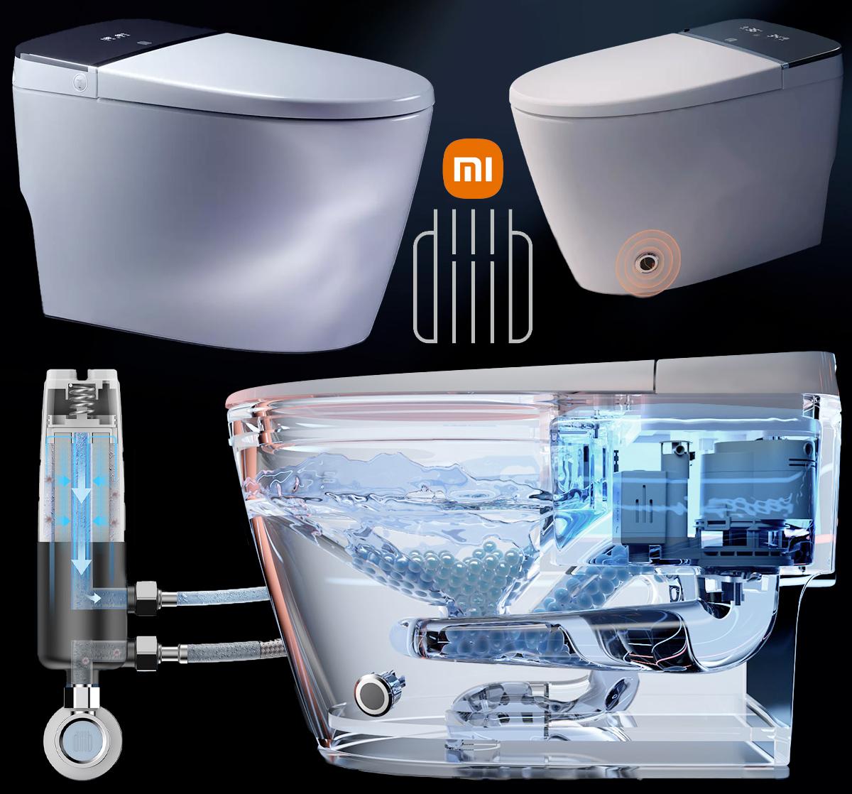Privada Inteligente Xiaomi DIIIB Supercharged Smart Toilet
